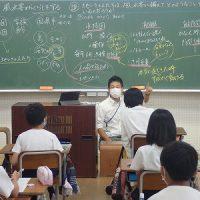 保護中: 担任の専門教科の授業