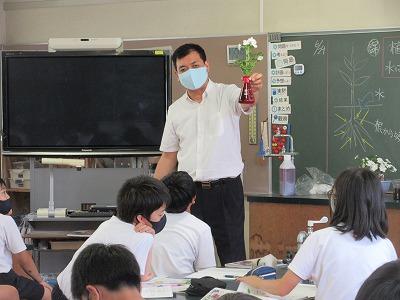 教頭先生の理科の授業