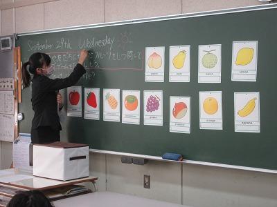 教生の先生の研究授業Ⅲ