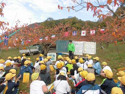 保護中: 柿畑見学