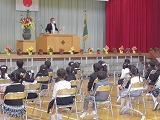 保護中: ドキドキ、ワクワクの入学式